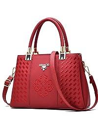 女士时尚美丽口袋本和手提包 - 时尚皮革钱包 - 单肩包 - 斜挎包 - 斜挎包 - 邮差包