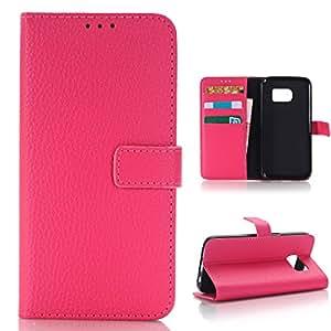 三星 Galaxy S7 手机壳,Galaxy S7 钱包式手机壳 玫瑰红
