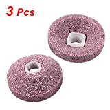 Uxcell 浅粉色碗形状抛光磨光点(3 件)