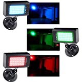 KOOT 迷你 LED 闪光灯,派对灯舞台灯,带 45 个超亮 LED 灯和闪光速度可调适用于迪斯科家庭舞蹈派对生日 DJ Bar Karaoke 圣诞婚礼秀俱乐部*吧45-2