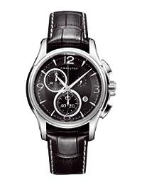 瑞士品牌 HAMILTON 汉米尔顿美国经典-爵士系列计时石英男皮表 H32612735
