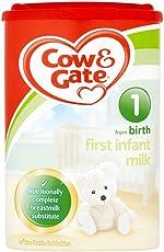 Cow & Gate 英国牛栏 婴幼儿奶粉 1段 900g(0-6个月) 包税包邮【跨境自营】