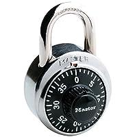 Master Lock 【正规进口商品】 拨号式挂锁 黑色 1500JAD