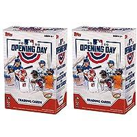 2020 Topps 开幕日棒球交易卡玩具枪盒(2 盒)