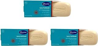 Dermisa Soap Sulfur Facial 3 Ounce (88ml) (3 Pack)