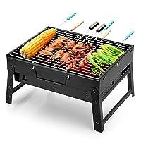 Uten Barbecue Grill 便携式轻型简洁木炭烤架 小号 黑色 UB-1