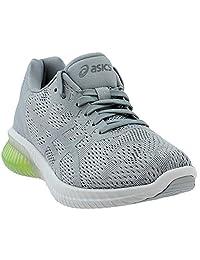 ASICS GelKenun MX GS 鞋童跑鞋 石灰色/灰色/黄色 7 M US 儿童