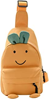 可爱卡通水果背包,儿童单肩包,人造胡萝卜形状,节日礼物
