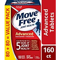 Schiff Move Free 氨糖軟骨素 維骨力 紅瓶基礎版 160粒