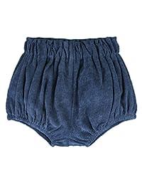 LOOLY 中性款女婴男童棉麻混纺灯笼裤短裤