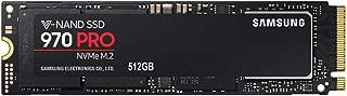 Samsung 三星MZ-V7P512BW 970 PRO内置SSD卡 512GB NVMe M.2