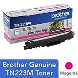 Brother Genuine TN223M 标准产量洋红色碳粉盒,TN223