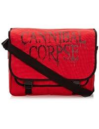 塑料头 Cannibal Corpse 标志 MBAG 男士旅行配件