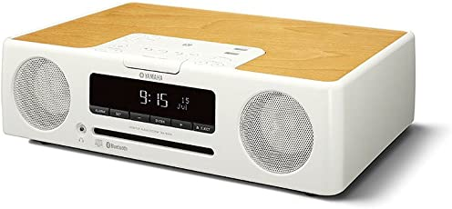 YAMAHA 雅马哈 TSX-B235 迷你桌面 音响 台式一体式CD蓝牙音响 FM收音机 床头音响 白色(供应商直送)