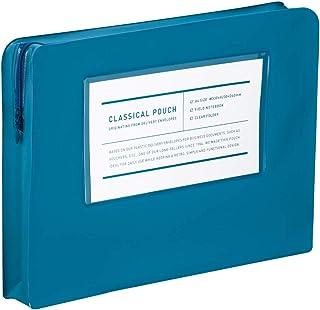 KOKUYO 国誉 古典 化妆包 A4盒 A4 蓝色