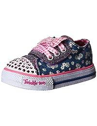 Skechers 斯凯奇 女童 帆布鞋 SK10469NA