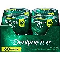 Dentyne Ice 无糖口香糖(绿薄荷味, 60 粒/罐,共4罐)