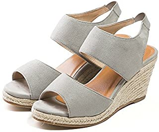 Menu ' E 橡胶鞋坡跟凉鞋 [ 7cm ]