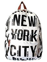 Robin Ruth NYC 粗体字母涤纶背包