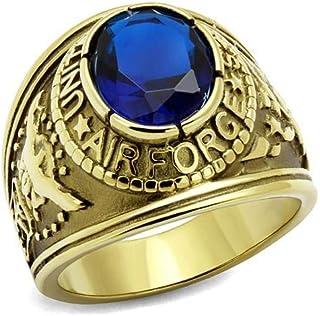 YVO 可定制*戒指 - 包括免费雕刻 - 抛光不锈钢或镀金