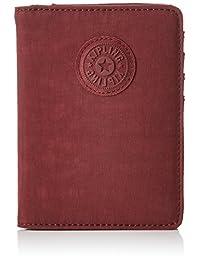 Kipling 凯浦林 Passport 护照钱包,14 厘米,0.01 升,棕色(鲜红色 M)