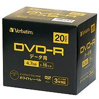 Verbatim 巴贝塔 1次记录用 许可证 202004DHR47JP20V2-B  20枚パック(プラケース)