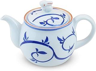 茶壶 时尚 : 有田烧 兔子唐草 带U型滤茶壶 (425cc) Japanese Tea pot Porcelain/Size(cm) 17.5x10.5x11/No:467441
