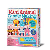 4M 迷你动物蜡烛制作套件