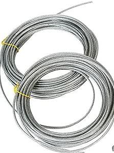 Shenandoah Homestead Supply 50-250 英尺服装线,乙烯基涂层重型 2000 磅绳。 柔韧,持久耐用,*适*为清洗线滑轮 100 ft unknown