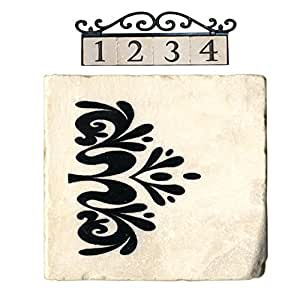 NACH 大理石屋地址/数字瓷砖 End 1 米色 692000004388