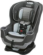 GRACO 葛莱 儿童安全座椅 Extend2Fit 灰白色