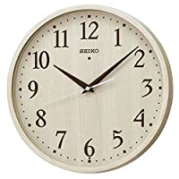 SEIKO CLOCK 精工表 挂钟 标准款 自然风格  象牙色