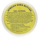 原生未精致的非洲乳木果油 - 226.8g,453.59 g,907.18 克容器,Sheanefit 出品 Yellow 16oz 16oz
