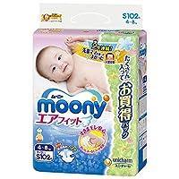 moony 空气贴身 S码 102片(腰贴型)