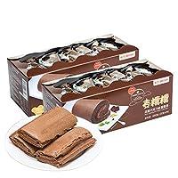 GOTOGO 过山车 麦糯糯浓醇巧克力味蛋糕卷480g*2