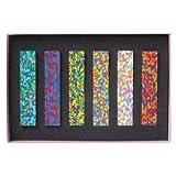 AOZORA 日本制造进口 Dot Flowers Crayon创意绘画多彩混色蜡笔缤纷花朵