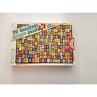 Educa 20 问题 100 片拼图 - 字母和数字
