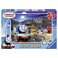 Thomas & Friends Night Work Glow-in-The-Dark Puzzle, 60-Piece 英国直邮 【亚马逊海外卖家】