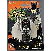 NJCroce 全新 1:64 蝙蝠侠经典电视剧 - 1966 蝙蝠侠车 3D 钥匙链