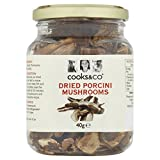Cooks & Co Dried Porcini Mushrooms 40 g (Pack of 6)