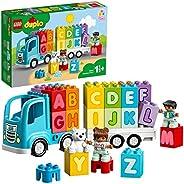 LEGO 10915 DUPLO My First Alphabet Truck 玩具,1.5 岁幼儿,学习字母积木,学前教育版