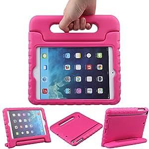 trelc Apple iPad mini 防震手机壳 CONVERTIBLE 轻质儿童超 EVA 保护壳带手柄支架保护套适用于苹果 iPad mini *3代 / MINI 2/ MINI 1