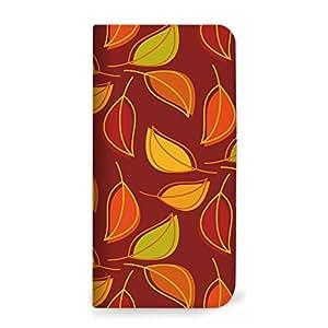 mitas iphone 手机壳74NB-0080-BO/E5603 2_Xperia M5 (E5603) ブラウンオレンジ(ベルトなし)