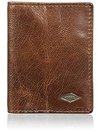 Fossil Ryan,男士钱包,Braun(深棕色),1.9x10.19999999999x7.6 厘米 (B x H T)