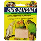 Zoo Med 26384 鸟宴会水果矿物块,1 盎司/小号