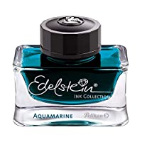 Pelikan 百利金 Edelstein 宝石系列墨水。 aquamarine