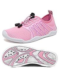 fanture 男式女式儿童合轻质快干多功能赤脚鞋适用于沙滩椅游泳池冲浪瑜伽