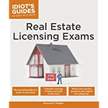 Real Estate Licensing Exams (Idiot's Guides) (English Edition)