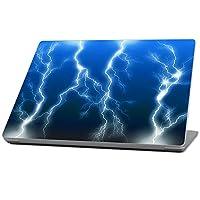 MightySkins 保护、耐用、独特的乙烯基保护膜,适用于 Microsoft Surface 笔记本电脑 (2017) 13.3 英寸MISURLAP-Lightning Storm  Lightning Storm Microsoft Surface Laptop