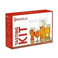 spiegelau 诗杯客乐 啤酒杯系列 经典啤酒杯4件原装礼盒套装(亚马逊自营商品, 由供应商配送)